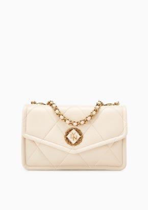 Diamond M Crossbody Bag