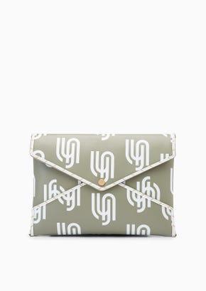 Lyn Infinite   Zoe Monogram Pouch Bag Set