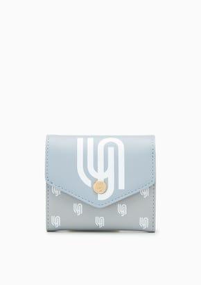 Lyn Infinite Greylyn Tri Fold  Wallet